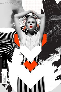 Graphic series - graphics designed by anthony neil dart design. Fashion Graphic Design, Graphic Design Typography, Graphic Design Inspiration, Graphic Art, Poster Art, Design Poster, Poster Collage, Illustration Mode, Collage Illustration