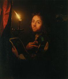 Godfried Schalcken, Autorretrato, 1695