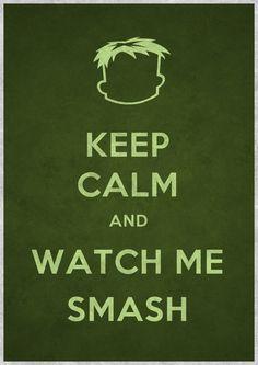 The hulk.. keep calm mode