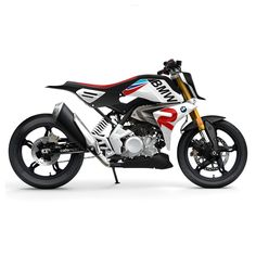 Cafemoto Concept bike BMW G 310 RR based on the new One cylinder model BMW G 310 R!