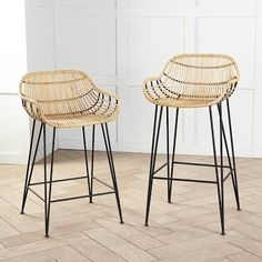 Obedient Home European Solid Wood Bar Stool Modern Minimalist Back Bar Bar Stools American Bar Chair Front High Stool Convenient To Cook Bar Furniture