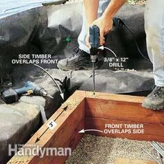 How to Install a Terraced Window Well in Your Basement | The Family Handyman More