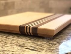 """1.25"""" Thick """"Racetrack"""" Cutting Board"""