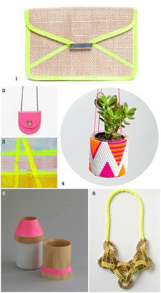 Wee Birdy Gift Guide: The Best Neon Presents via WeeBirdy.com