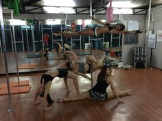 Pole dance class mates #PoleDance #PoleFitness #PoleGasm #IPDA
