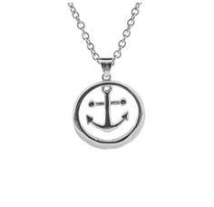 Outlander Inspired Anchor SS Pendant   Scottish Jewellery