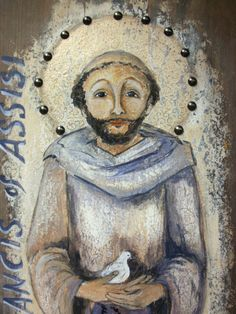 Saint Francis of Assisi by Art4thesoul on Etsy