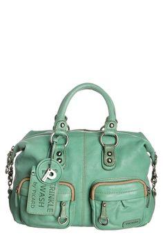 I LOVE this bag. It's so yummy green! :)  Free Nail Technician Information   http://www.nailtechsuccess.com/nail-technicians-secrets/?hop=megairmone