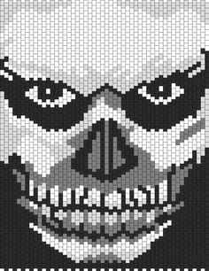 American Horror Story Murder House Tate bead pattern