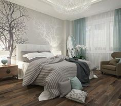 Sleep better thanks to Feng Shui: This is how you optimally furnish your bedroom! - Sleep better thanks to Feng Shui: This is how you optimally furnish your bedroom! – Feng Shui for - Dream Bedroom, Home Bedroom, Serene Bedroom, Whimsical Bedroom, Bedroom Romantic, White Gray Bedroom, Bedroom Furniture, Calm Bedroom, Boys Furniture