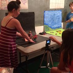 Claymation/Stop-motion Camp @BCA  http://www.kristenmwatson.com/new-events/2016/6/20/claymationstop-motion-camp-bca Kristen M. Watson