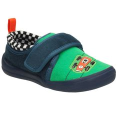 e97624f805caf Clarks Cuba Pace Infant Boys Race Car Slippers | Charles Clinkard Infant  Boys, Winter Shoes