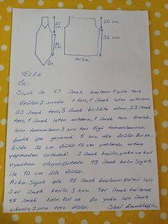 Deryanın Dunyası Bayan Yelek Yapılışı 25 Mart 2015 - 26 Mart 2015 - bilgibenimle.com