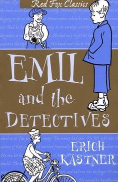 Emil And The Detectives (Red Fox Classics) by Erich Kästner, http://www.amazon.co.uk/dp/0099413124/ref=cm_sw_r_pi_dp_UkX6rb1C983AC