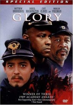 Cary Elwes & Denzel Washington & Edward Zwick-Glory