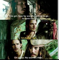 Pirates of the Caribbean: The Curse of the Black Pearl Captain Jack Sparrow, Disney Memes, Disney Quotes, Jack Sparrow Quotes, Johny Depp, Pirate Life, Stupid Funny Memes, Funny Facts, Hilarious
