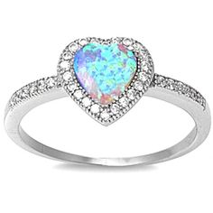Love Promise Lab Created White Opal & Cz Heart .925 Sterling Silver Ring Size 5 Oxford Diamond Co http://www.amazon.com/dp/B00DPWPLZ4/ref=cm_sw_r_pi_dp_NAlhvb00PDMY9