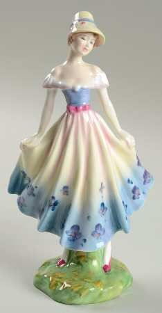 madeleine figurine royal doulton | Found on search.replacements.com