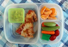 Preschool @EasyLunchboxes ideas.  Pizza packed for lunch.