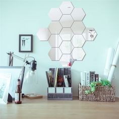 Three-dimensional hexagonal 7 Piece Wall Decoration  Price: 14.84 & FREE Shipping #computers #shopping #electronics #home #garden #LED #mobiles #rc #security #toys #bargain #coolstuff |#headphones #bluetooth #gifts #xmas #happybirthday #fun