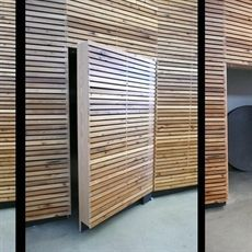 13 Best Wood Slat Walls Images On Pinterest Wood Slat