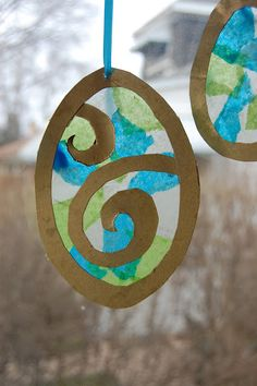 #Easter Suncatchers