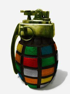 Rubik's Grenade by ~MechaTwiggy