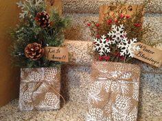 Christmas pockets #christmas #handmade #primitives