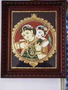 Krishna_Yashoda_On_Traditional_Tanjore_Painting.jpg (480×640)