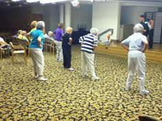 Orchard Cove Summer Olympics 2012 - Zumba Gold Dance Off