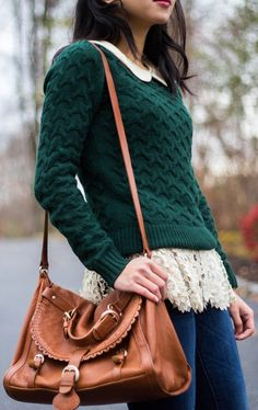 The #Fall Standard (+ Unpeelable #Layers) by Fast Food & Fast Fashion => Click to see what she wears
