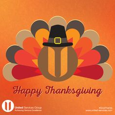 Happy #Thanksgiving from United Services Group!  #turkeyday