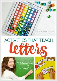 Find fun and engaging preschool literacy activities that span all the components of preschool literacy instruction, from emergent literacy skills to learning how to read and write. Writing Activities For Preschoolers, Preschool Writing, Preschool Letters, Alphabet Activities, Preschool Learning, Preschool Literacy Activities, Preschool Readiness, Articulation Activities, Kindergarten Centers