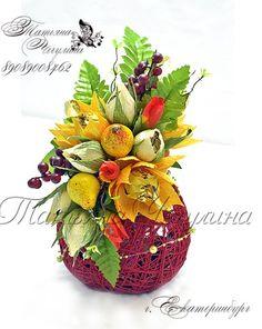 Букеты и цветы из гофрированной бумаги.Мастер-кл | ВКонтакте