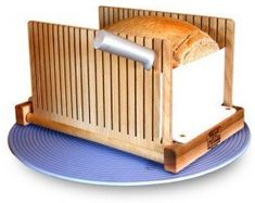 The foldable Bread Pal bread slicer is simply the best tool for the job!
