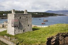 pirate queen's castle on Clare Island, County Mayo