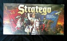 VINTAGE 1996 STRATEGO BOARD GAME - 100% COMPLETE - OUTSTANDING CONDITION!
