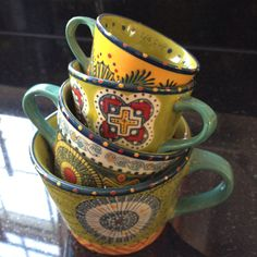 Anthropologie measuring cups.