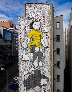 Something new from Millo spotted in Bratislava, Slovakia. Something new from Millo spotted in Bratislava, Slovakia. Something new from Millo spotted in Bratislava, Slovakia. Murals Street Art, Street Art News, Best Street Art, Amazing Street Art, 3d Street Art, Street Art Graffiti, Street Artists, Graffiti Artists, Amazing Art