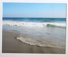 5 x 7 Huntington Beach California blue ocean by RoadAheadPhotos, $16.25