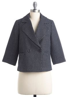 Make It Network Blazer | Mod Retro Vintage Jackets | ModCloth.com - StyleSays