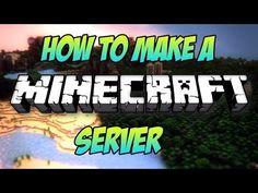 How to make a minecraft server x