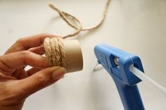 Repurposed Paper Towel Roll Napkin Rings How To