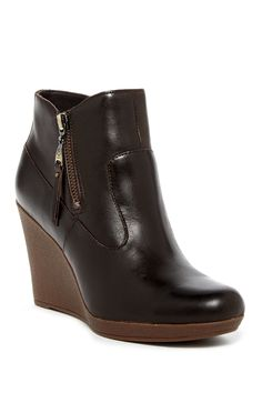UGG Australia - Meredith Genuine Shearling Lined Wedge Bootie at Nordstrom Rack. Free Shipping on orders over $100.