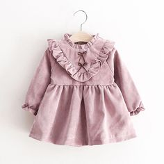 $11.66 AUD - Toddler Kids Baby Sweet Girls Autumn Long Sleeve Princess Dress Outfits Clothes #ebay #Fashion