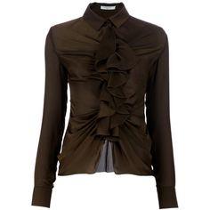 381de329b8cda GIVENCHY Ruffle blouse found on Polyvore Collar Blouse