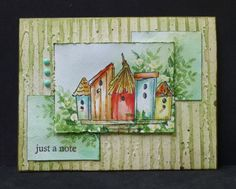 *SC435  Birdhouses by hobbydujour - Cards and Paper Crafts at Splitcoaststampers