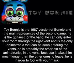 >>well most of this is true'>toy bonnie bio>>>well most of this is true - Ewww Meme - toy bonnie bio>>>well most of this is true appeared first on Gag Dad. Scary Games, Fun Games, Five Nights At Freddy's, Fnaf Theories, Animatronic Fnaf, Fnaf Sl, Fnaf Characters, Fnaf Sister Location, Freddy Fazbear