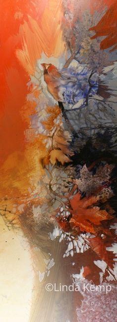 linda kemp watercolor painting outside the lines Landscape Art, Landscape Paintings, Landscapes, Watercolor And Ink, Watercolor Paintings, Art Aquarelle, Art N Craft, Autumn Art, Paintings I Love