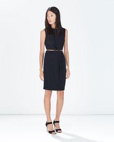 Image 1 of JEWELLED BELT DRESS from Zara